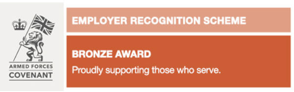 Military Employer Recognition Scheme - Bronze