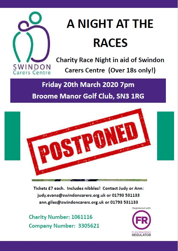 Race Night postponed