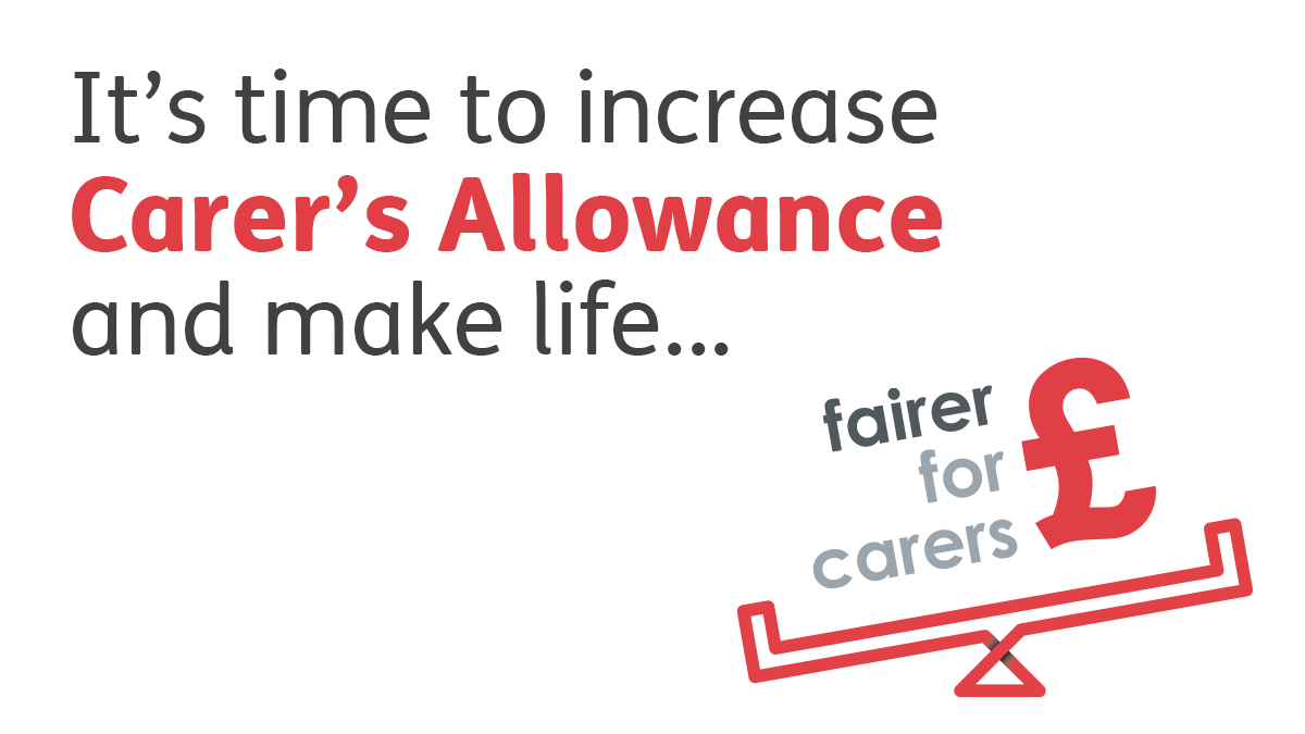 Our support for the Fairer For Carers Campaign