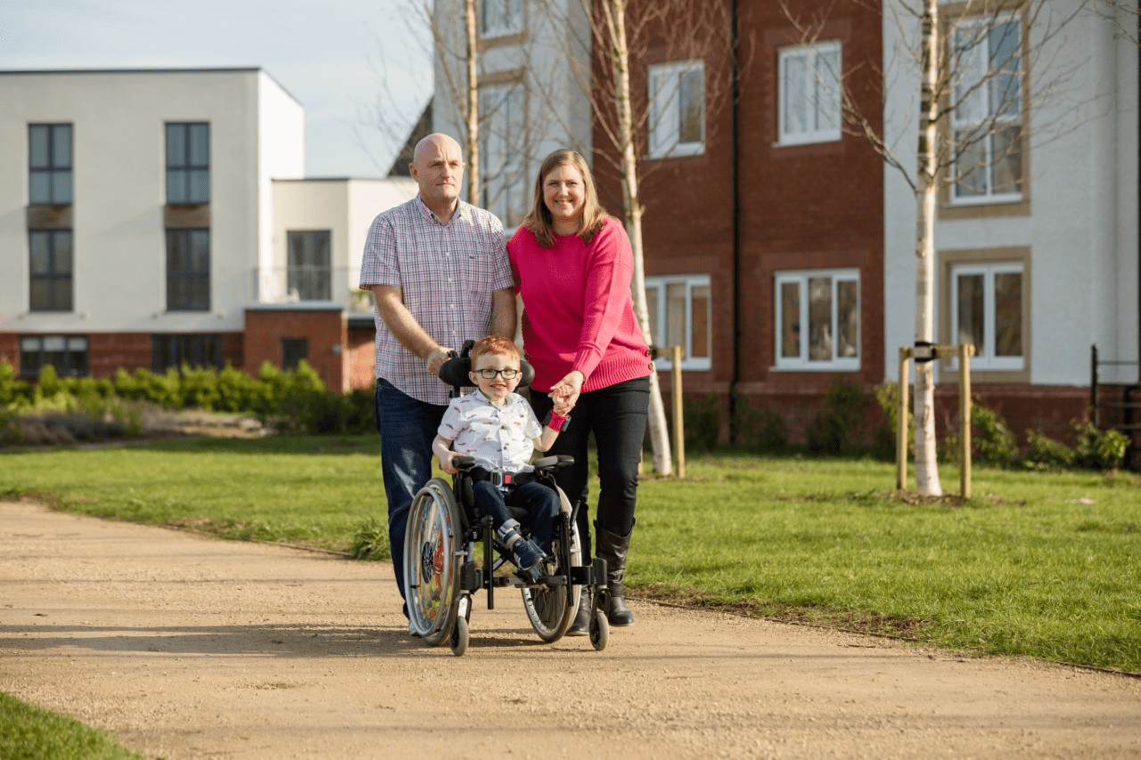 Proud of our little superstar: Abi and Steve's story