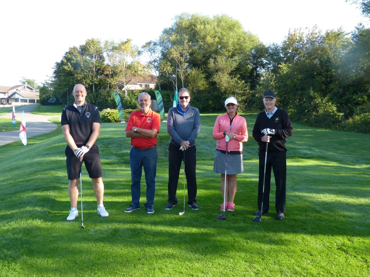 Senior Captain's day at Broome Manor Golf Club raises over £3,000 for young carers