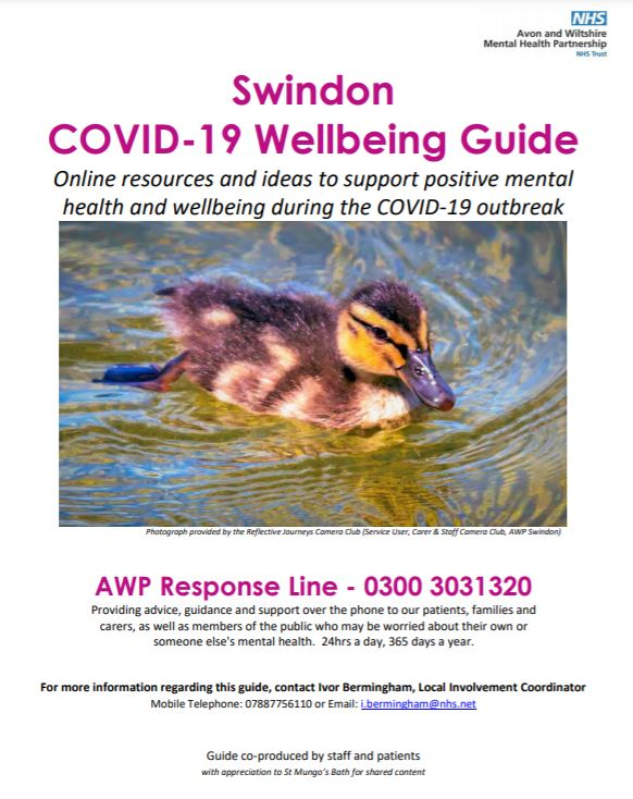 Swindon Covid-19 Wellbeing Guide