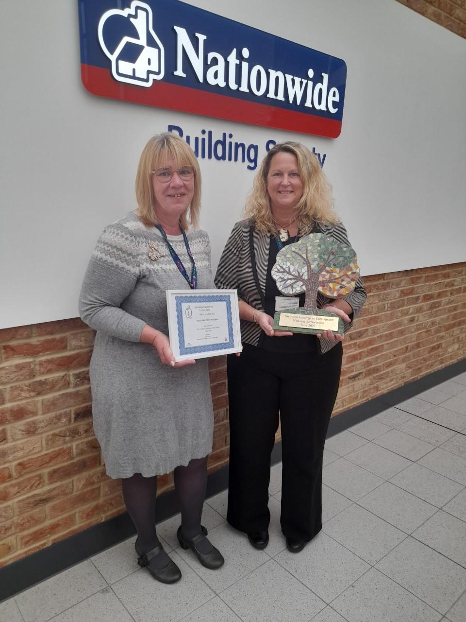 Nationwide achieves the Swindon Employers Care Award